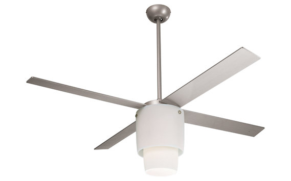 Halo Ceiling Fan with Halogen Light