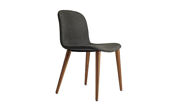 Bacco Chair, Angel Fabric, Oak Legs