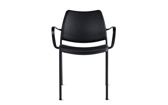 Gas Armchair-Black Base-Vinyl