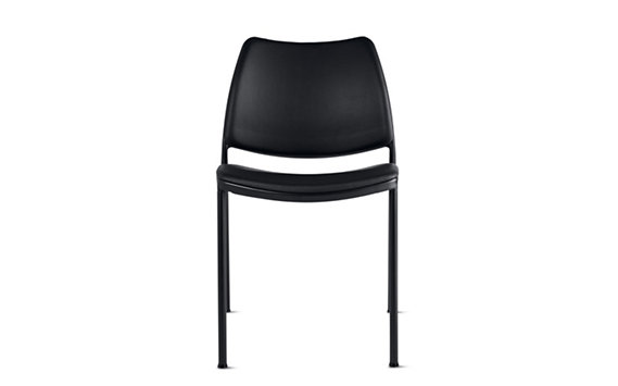 Gas Side Chair-Black Base-Vinyl