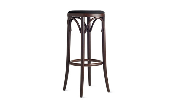 Era Backless Barstool with Upholstered Seat