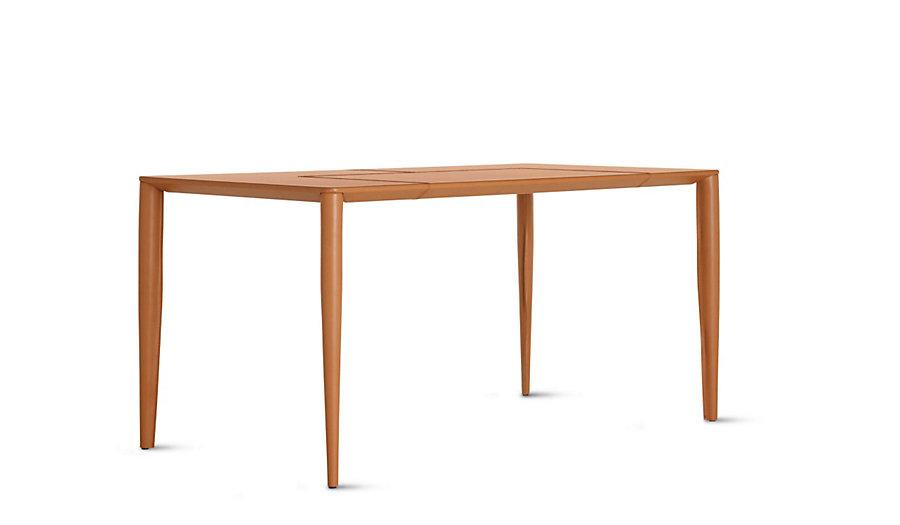 Bottega leather desk saddle modern dwr design within reach for Design within reach desk