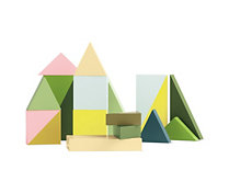 Wooden Wonderland Building Block Set