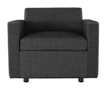 Bevel Armchair in Fabric