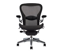 Aeron Deluxe Chair with Lumbar Support, Size A