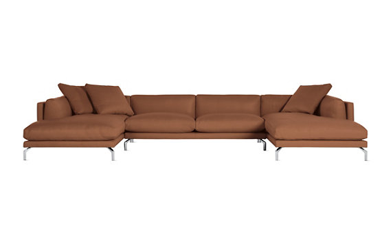living sofas sectionals como double chaise sectional in le
