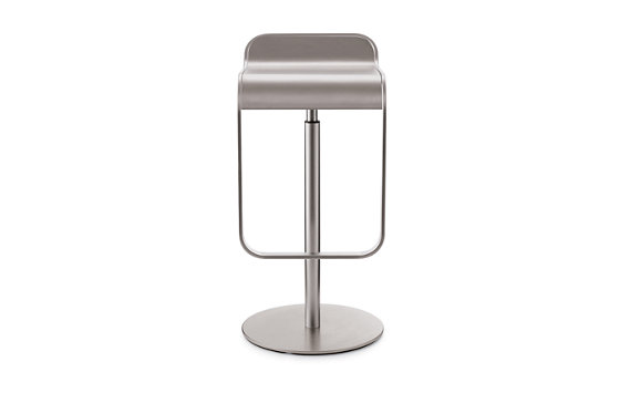 LEM Piston Stool with Stainless-Steel Seat