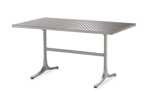 Inox Table - Rectangular