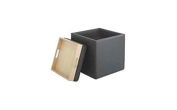 Nexus Storage Cube in Leather
