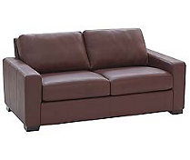 "Portola 66"" Sofa in Leather"