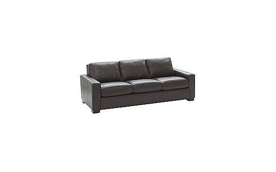 "Portola 84"" Sofa in Leather"