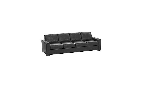 "Portola 102"" Sofa in Leather"