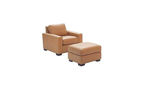 Portola Armchair in Leather