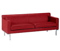 Theatre Sofa in Ultrasuede
