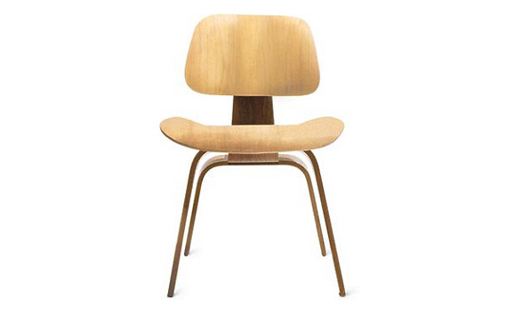 eames molded plywood dining chair dcw design within reach. Black Bedroom Furniture Sets. Home Design Ideas