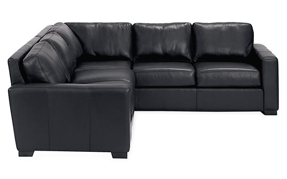 Portola Sectional Sofa in Leather