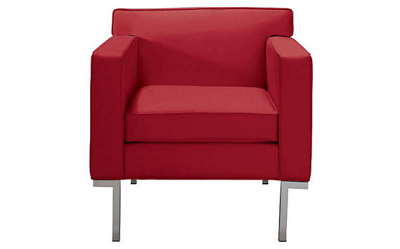 Theatre Armchair in Ultrasuede