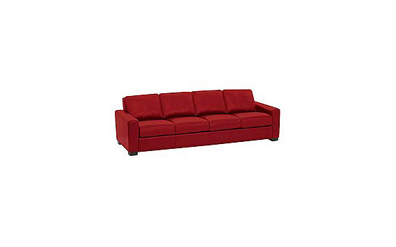 "Portola 102"" Sofa in Ultrasuede"