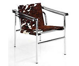 LC1 Sling Chair, Cowhide