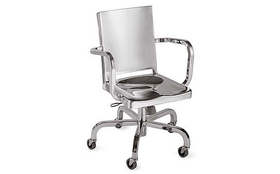 Hudson Task Chair, Polished
