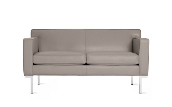Theatre Two-Seater Sofa in Leather