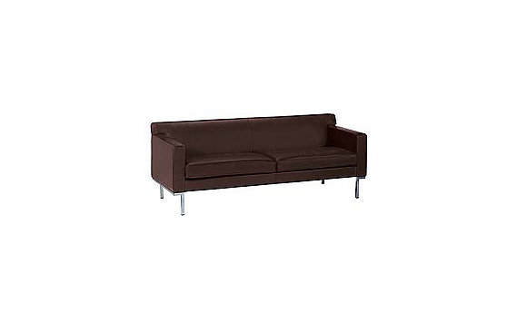 Theatre Two-Seater Sofa in Ultrasuede
