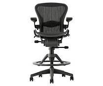 Aeron® Work Stool - Lumbar Support