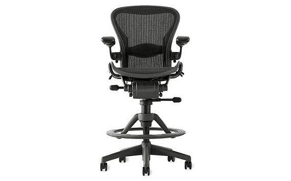 Aeron® Work Stool with Lumbar Support